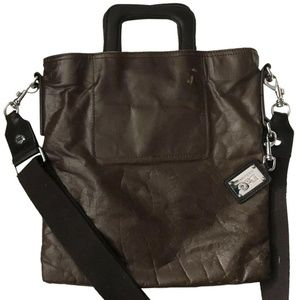 Dolce And Gabanna Men's Leather Messenger Bag